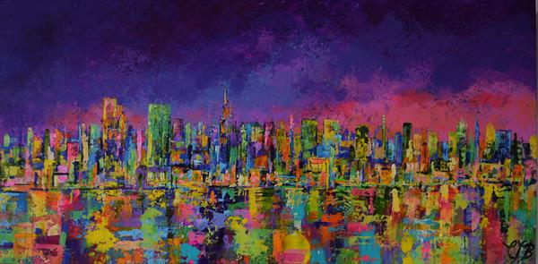 City on the Edge by Colette Baumback