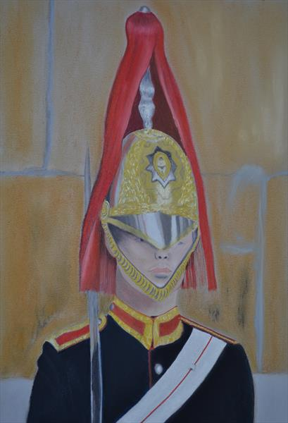 The Queens Guard by Les Gaston-Johnston