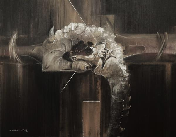 I...I Needed Something To Die For. (Crucifixion) by Mark Masters