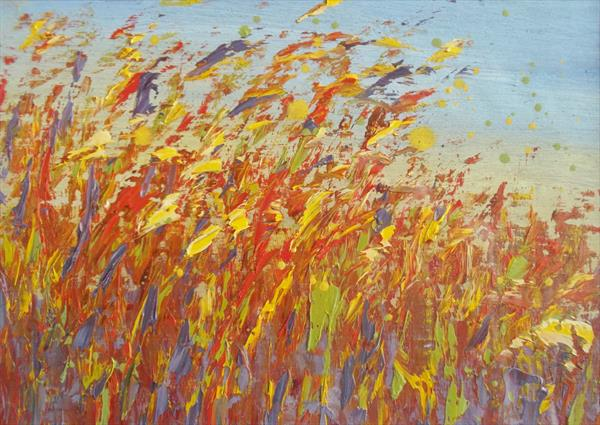 Autumn Breeze by Therese O'Keeffe