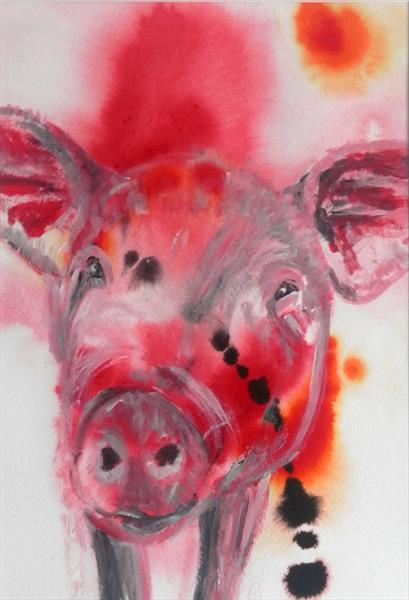 Pig of a Day by Caroline Skinner