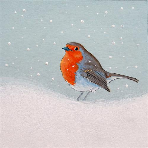 Winter Robin by Denise Coble