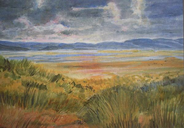 Stormy Dunes by Janet Davies