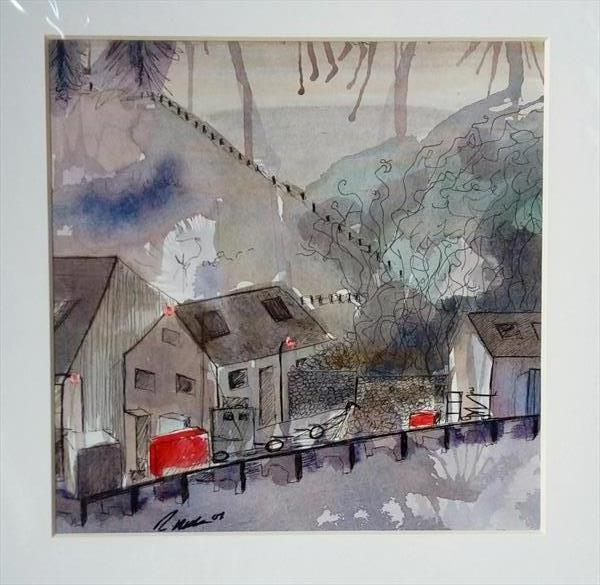 Scalloway Harbour by Rachael Hogg