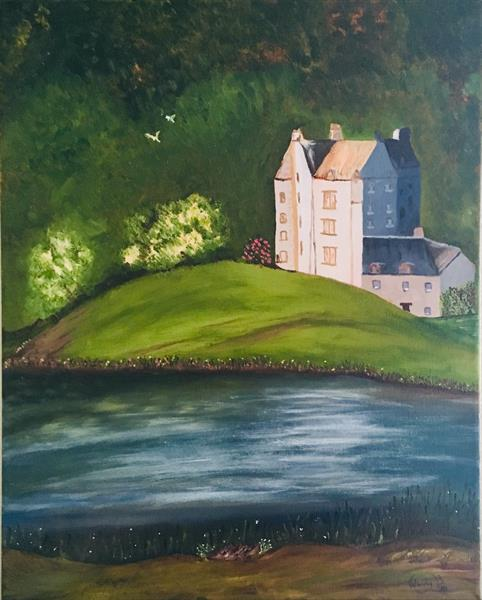 Chateau by the Lake by Wendy Brain