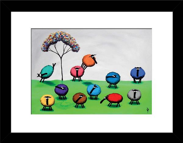 Diversity Makes The World A Better Place Limited Edition Print by Mervyn Tay