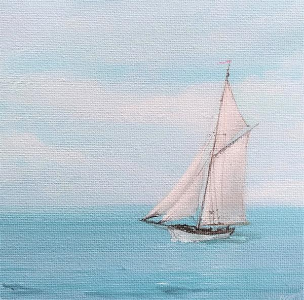 Elisa-Rose - a Gaff Rigged Cutter by Maggie Frampton