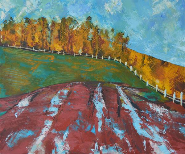 Wood on the Hill by Melissa Pentney