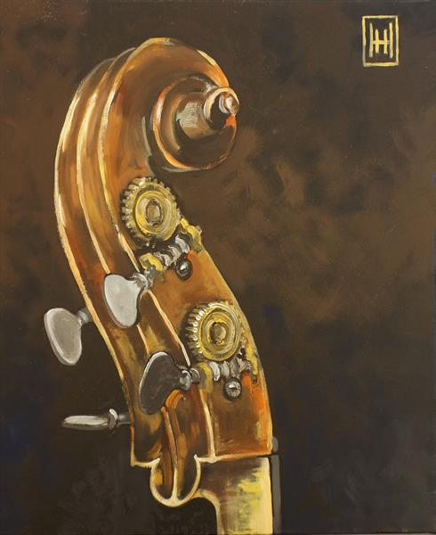 Double Bass - 1 by Humph Hack