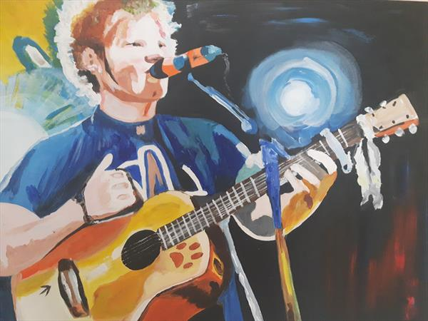 Ed Sheeran  by Michael Dyer