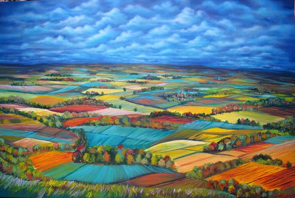 Autumn In Dorset by Mariyan Gergyovski