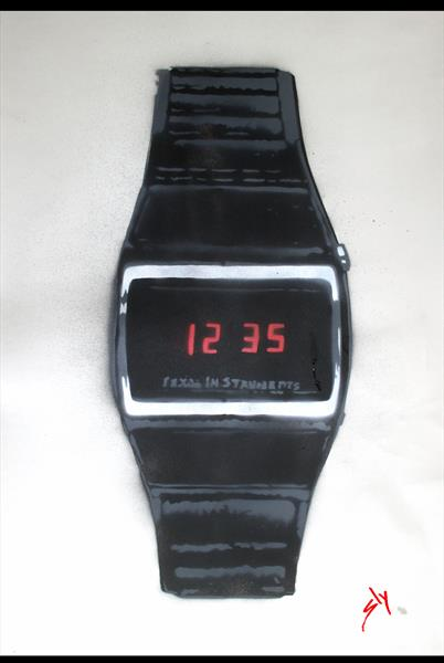 Cheap Digital Watch by Texas Instruments. (on The Daily Telegraph) + FREE digital watch! by Juan Sly
