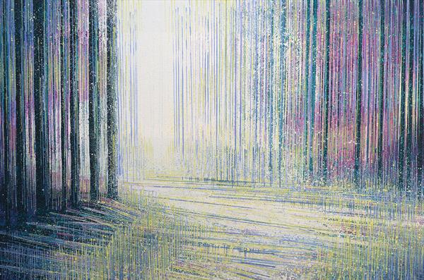 Soft Light Falling Through Trees by Marc Todd
