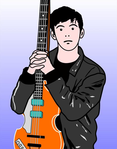 Young Macca by Paul Vaccari