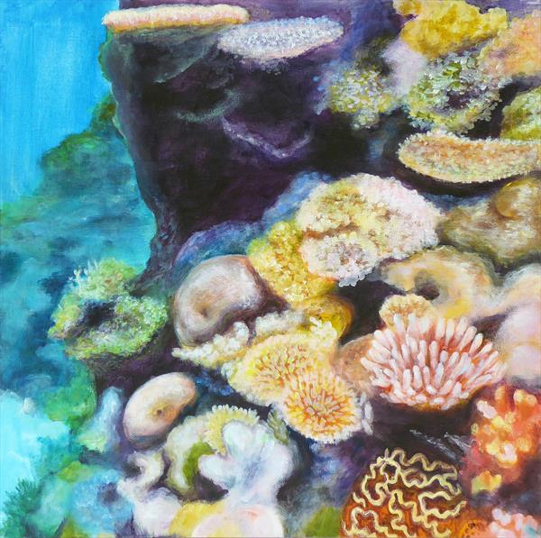Coral Reef 2 by Jacqueline Talbot