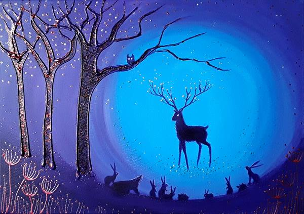 The Enchanted Forest by Angie Livingstone