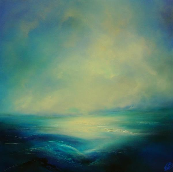 Blue Infinity by Gillian Luff