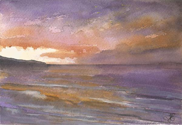 Sunset I by Tracy Butler