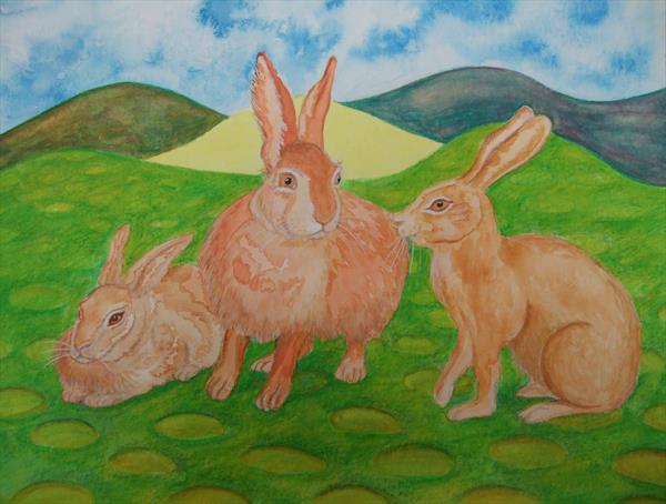 The Rabbit Family by Mary Ballentine