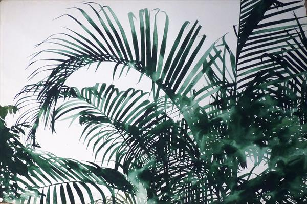 Palm Tree 04 by Sally Maltby