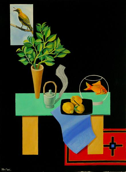 Still-Life With Golden Oriole by Paul Rossi