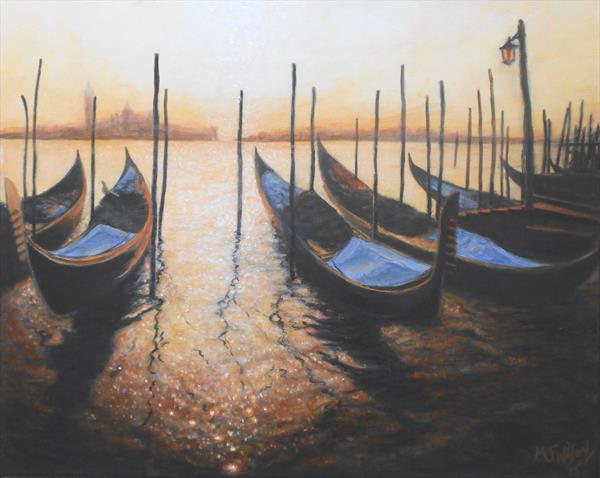 Venice Sunset by Marion Wilford