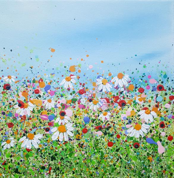 Happy Meadows #2 Reserved for Julie by Lucy Moore