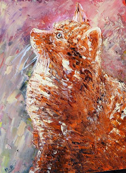 Watch the birdie- Wally the cat by Mary Ann Day