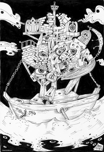 Folly Ship by Spencer   Derry