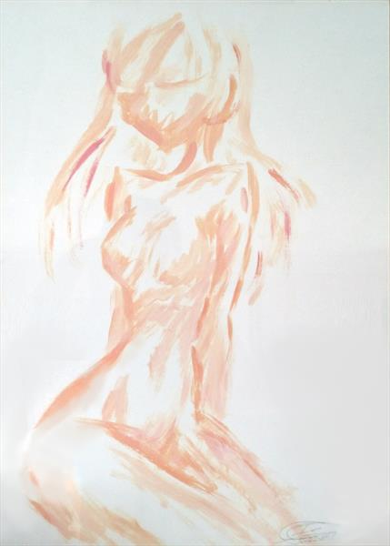 Simple Nude by Io Helena Zarate