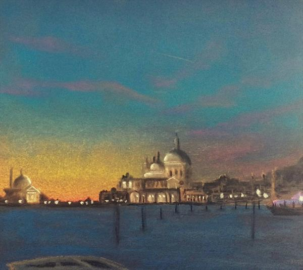 An evening in Venice by Anupama Saxena
