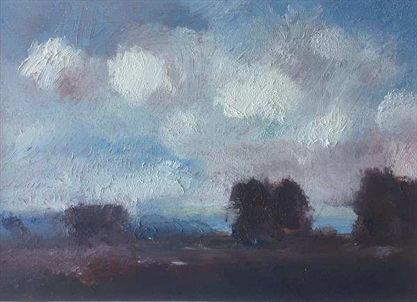 Trees in the Fading Light by Alan Daysh