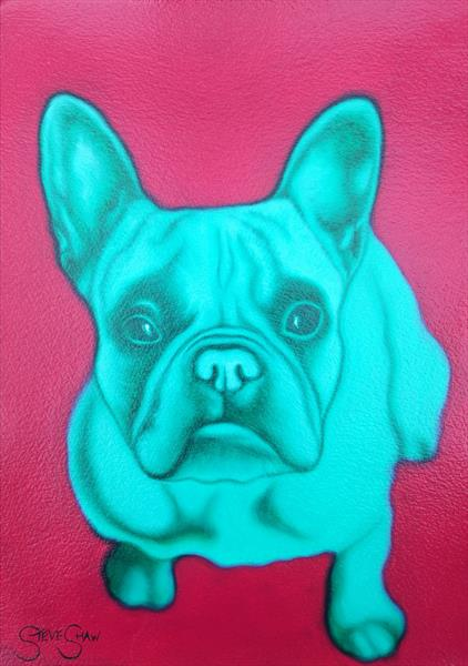 Green Frenchie by Steven Shaw