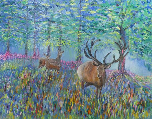 The Blue Forest  by Lesley Blackburn