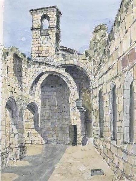 Cloisters in Saint Emilion by Peter Blake