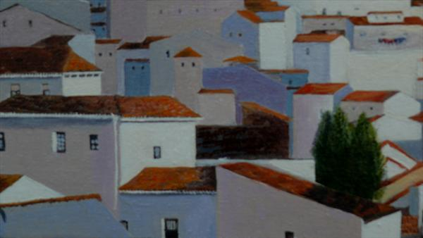 White Houses of Ronda by Afsheen Nasir