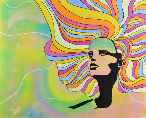 'Psychedelic women' by cleigh walker
