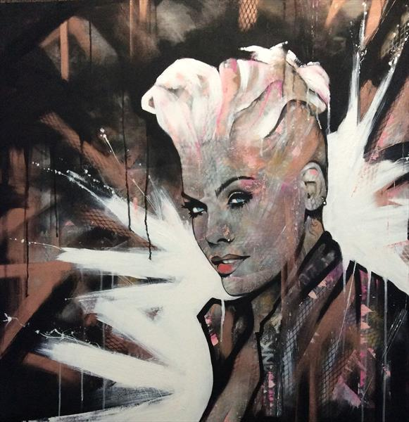 Pink by sharon coles
