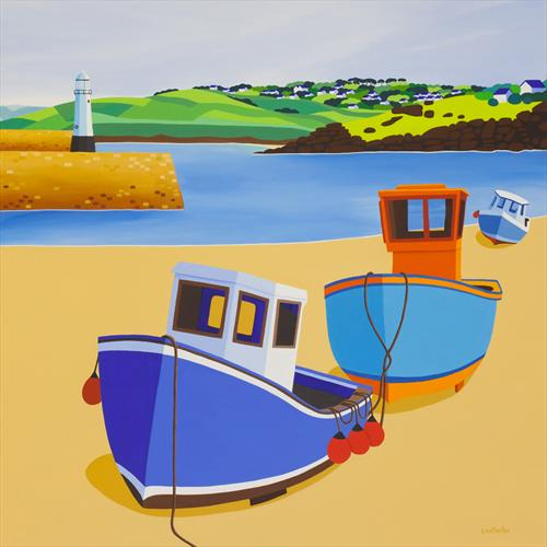 St Ives Harbour by Shirley Netherton