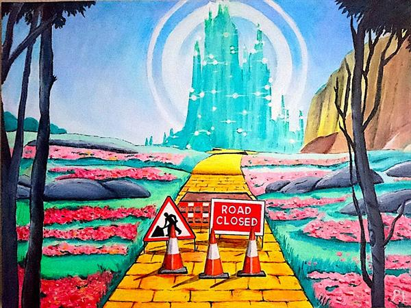 Yellow Brick Road Closure by Patrick Lee