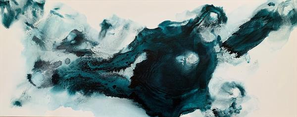 """59x 23,5""""( 150x60cm), Sound of Earth 14,  by Veronica Vilsan"""