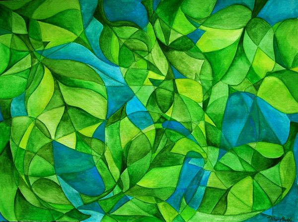 Abstract Leaves by Tiffany Budd