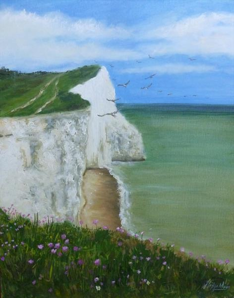 Seaford Cliffs by Jane Moore