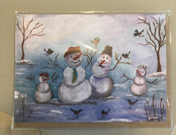 Snowman party  by Inna Montano