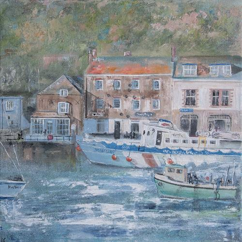 Padstow Harbour Front by Diane Griffiths