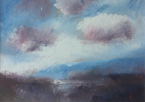 Early Morning Clouds over the Yar Valley by Alan Daysh