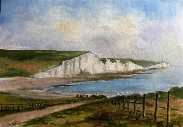 The Seven Sisters, East Sussex by Wendy Sabine