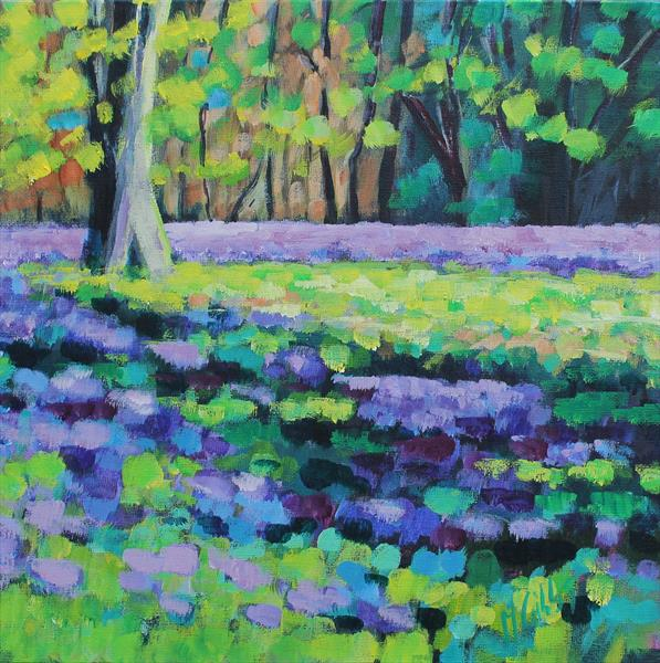 Lavender Forest by Michelle Gibbs