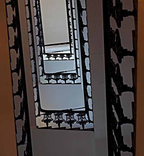 ABSTRACT STAIRWELL (LIMITED EDITION 1-20) by Peter Holzapfel
