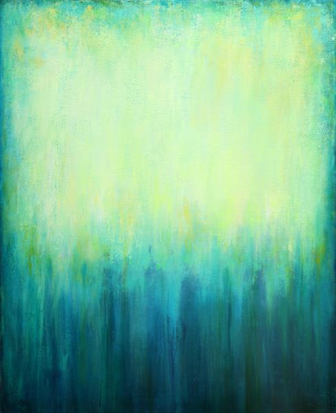 Turquoise Dreaming by Behshad Arjomandi
